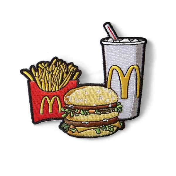 Picture of Value Meal Iron-On Patch