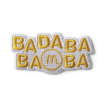 "Picture of ""Ba Da Ba Ba Ba"" Jingle Iron-On Patch"