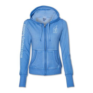 Picture of Ladies' RMHC Blue Hoodie