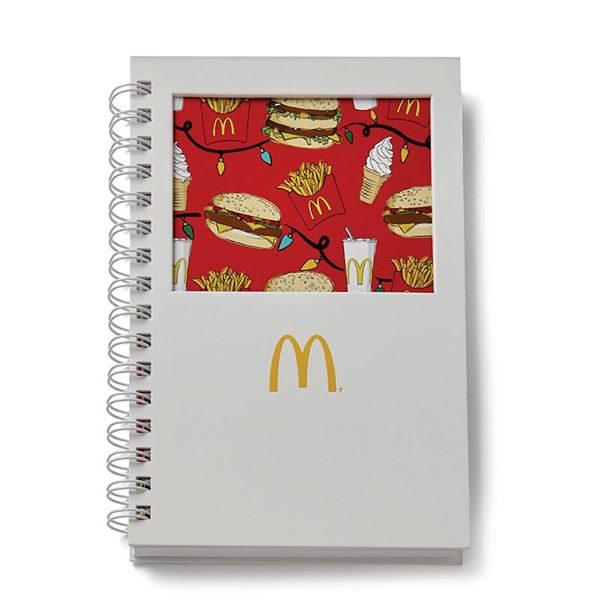 Picture of McDonald's Holiday Print Cut-Out Journal