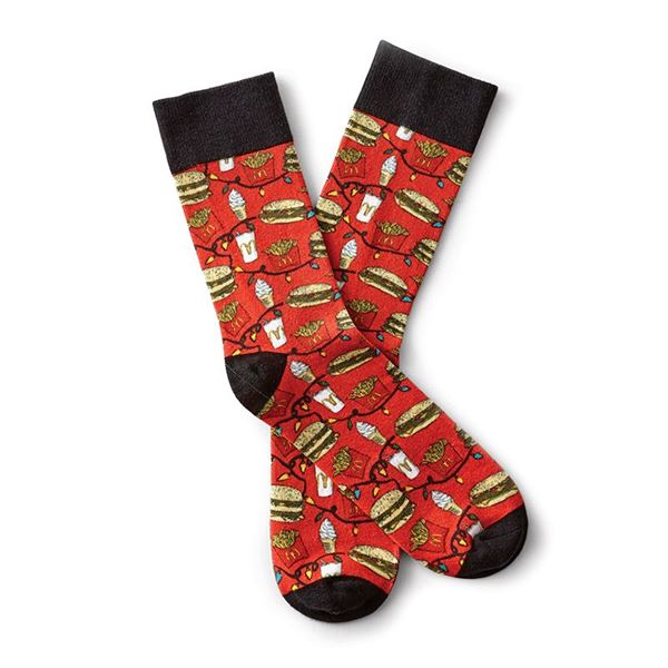 Picture of Holiday Graphic Socks