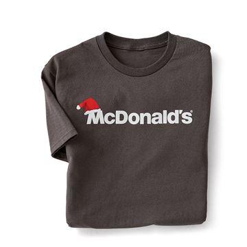 Picture of Santa Hat Wordmark T-Shirt