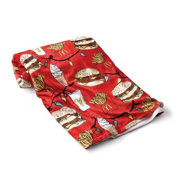 Picture of Holiday Pattern Fleece Blanket
