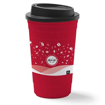 Picture of 16 oz McCafe Holiday Tumbler