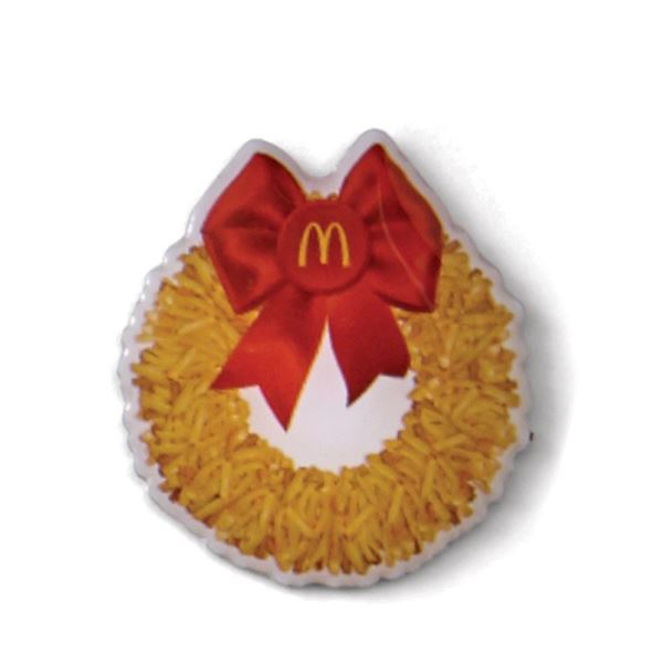 Picture of French Fry Wreath Lapel Pin