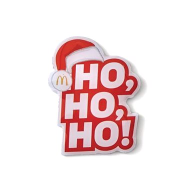 Picture of Ho Ho Ho Lapel Pin