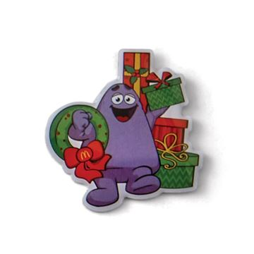 Picture of Grimace Presents Lapel Pin