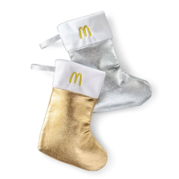 Picture of Gold & Silver Holiday Stockings - 25 per Pack