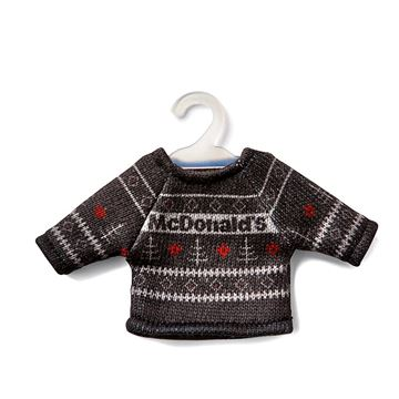 Picture of Mini Fair Isle Sweater Ornament
