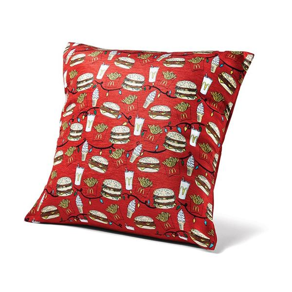 Picture of Holiday Pattern Throw Pillow