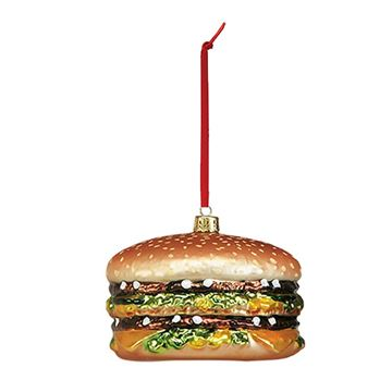 Picture of Small Big Mac Blown Glass Ornament
