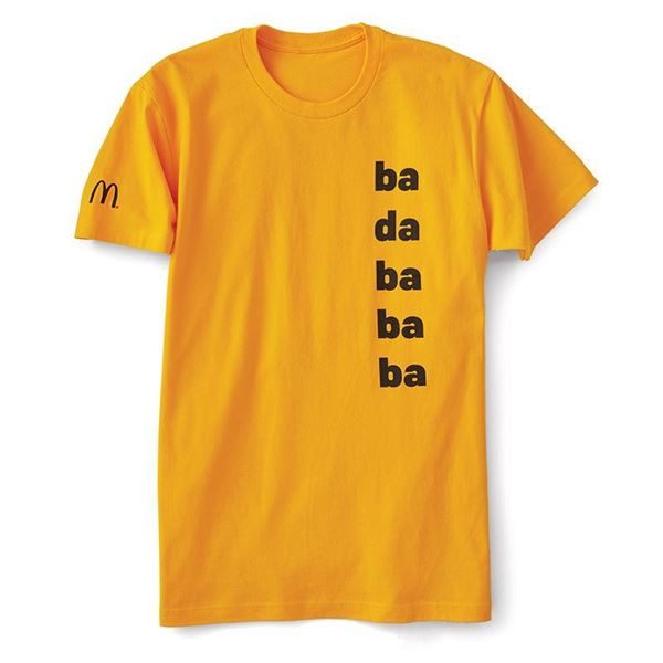 "Picture of ""Ba Da Ba Ba Ba"" Jingle T-Shirt"