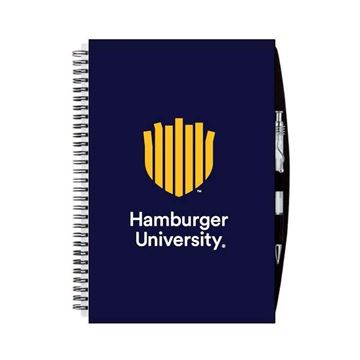 Picture of HU Navy Spiral Notebook
