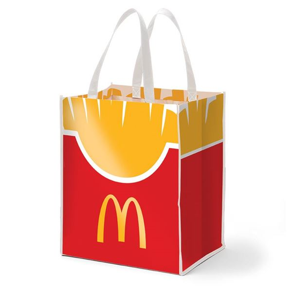 Picture of Fry Box Icon Laminated Tote