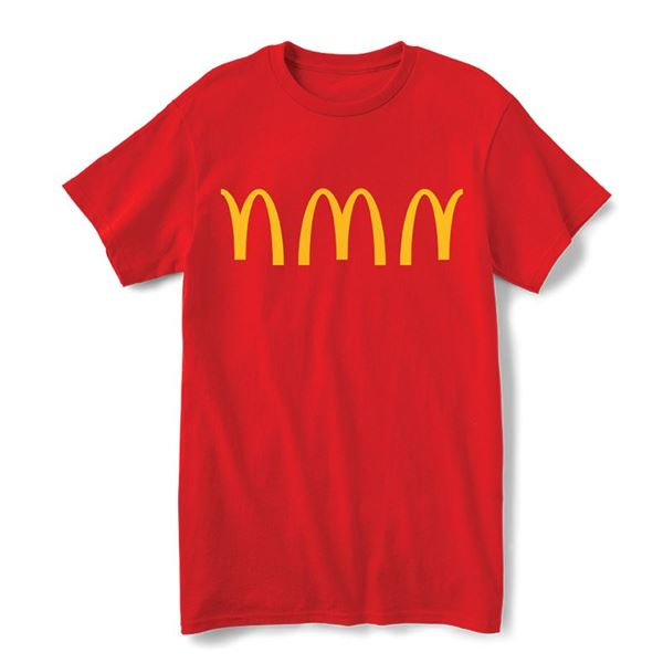Picture of Red Arches Repeat Graphic Tee