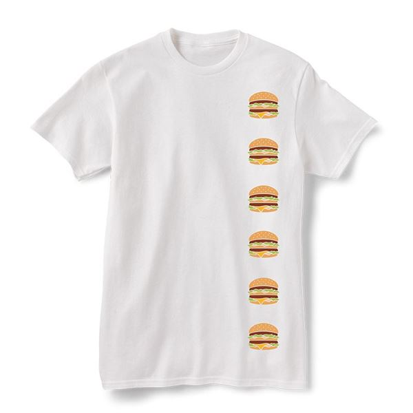 Picture of Stacked Big Mac Icon Graphic Tee