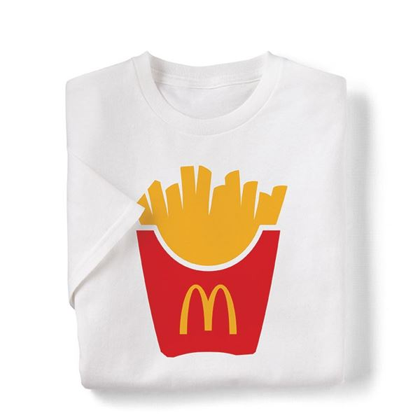 Picture of Large Fry Box Icon Graphic Tee
