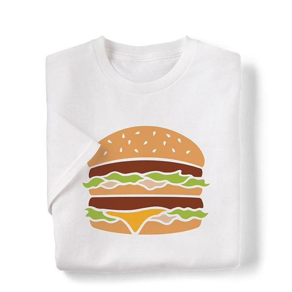 Picture of Large Big Mac Icon Graphic Tee