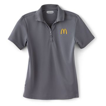 Picture of Ladies' Moreno Grey Performance Polo