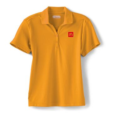 Picture of Ladies' Moreno Gold Performance Polo