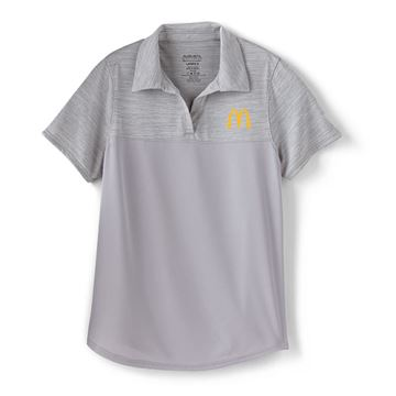 Picture of Ladies' Augusta® Grey Two Tone Performance Polo