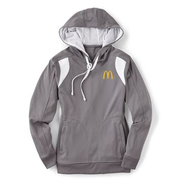 Picture of Ladies' Grey Performance Hoodie