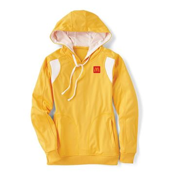 Picture of Ladies' Yellow Performance Hoodie