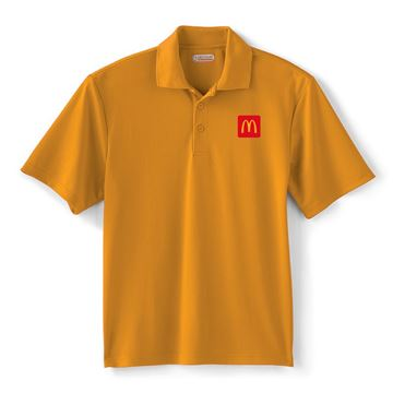 Picture of Men's Moreno Gold Performance Polo