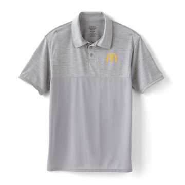 Picture of Men's Augusta® Grey Two Tone Performance Polo