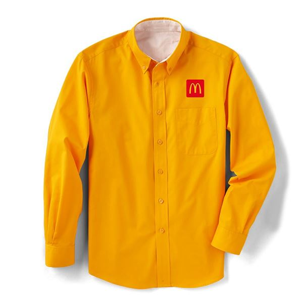 Picture of Men's Gold Long-Sleeve Event Button Down