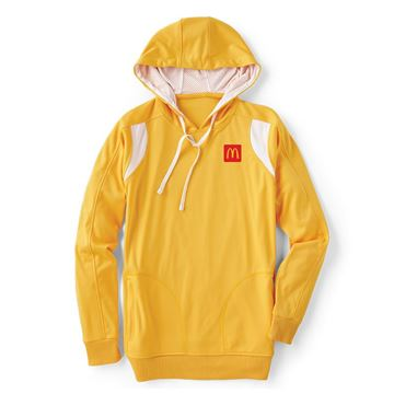 Picture of Men's Yellow Performance Hoodie