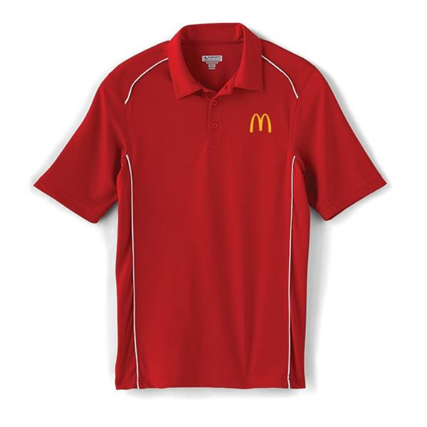 Picture of Men's Augusta® Red Piped Performance Polo