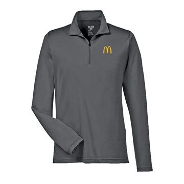 Picture of Men's Grey Sport 1/4 Zip Pullover