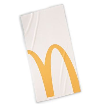 Picture of Cropped Arches Towel