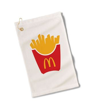 Picture of Fry Box Icon Golf Towel