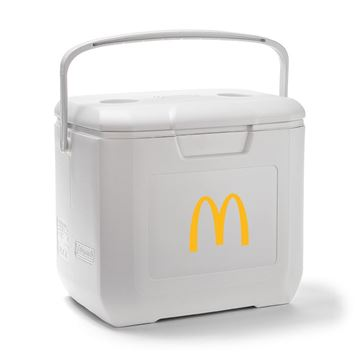 Picture of White Coleman® Cooler