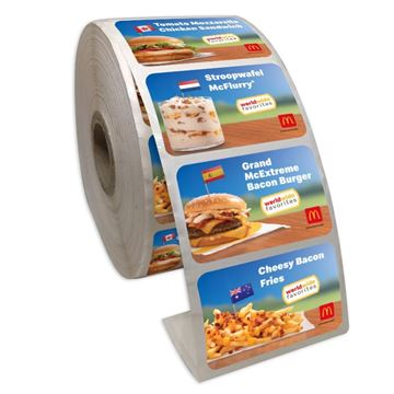Picture of WorldWide Favorites Stickers - 500 per Roll