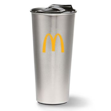Picture of 16 oz Silver Tumbler