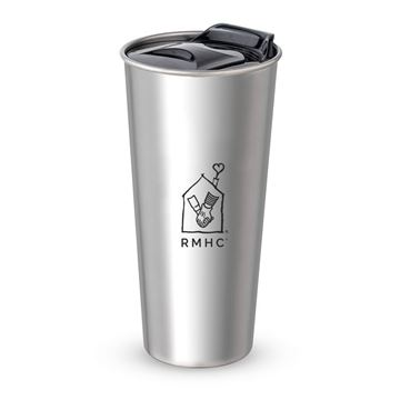 Picture of 16 oz RMHC Silver Tumbler