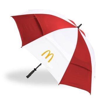 Picture of Red/White Golf Umbrella
