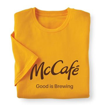 Picture of McCafe Brewing Gold T-Shirt