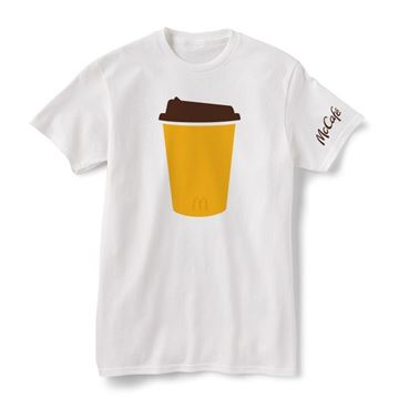 Picture of McCafe Icon White T-Shirt