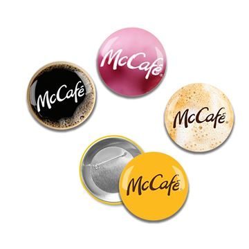 Picture of McCafe Buttons - 24 per Pack