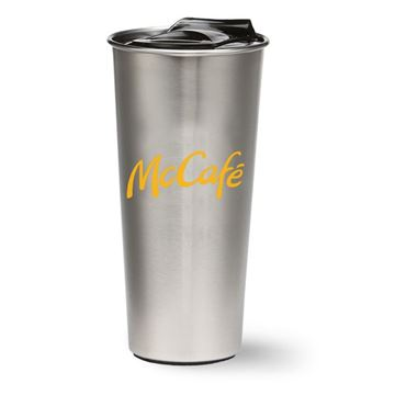 Picture of 16 oz McCafe Silver Tumbler
