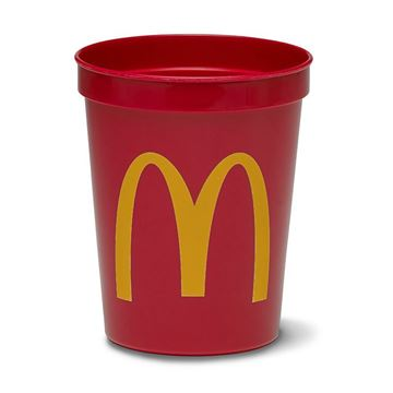 Picture of 16 oz Red Stadium Cup