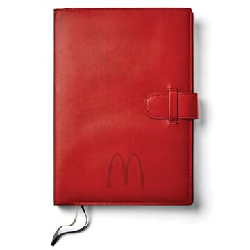 Picture of Arches Red Large Notebook