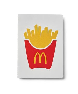 Picture of French Fry Icon Notebook