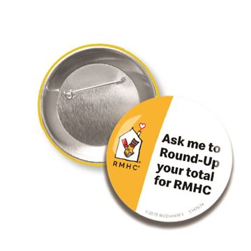 Picture of RMHC Crew Buttons - 10 per Pack