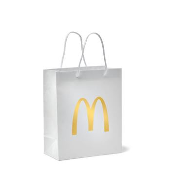 Picture of White Arches Gift Bag