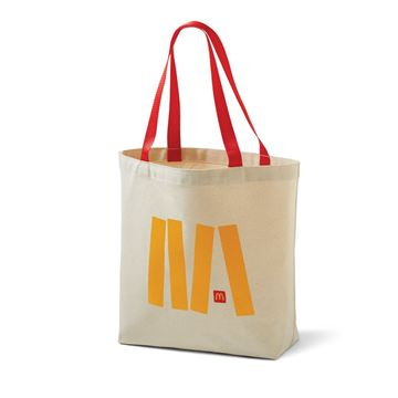 Picture of Jumble Icon Canvas Tote